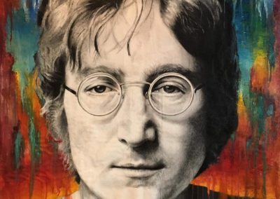 """John Lennon"" Oil on canvas 155x150 2020"