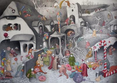 CANDYLAND, 175x140 cm, OIL ON CANVAS, 2020
